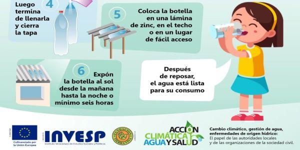 Acción climática, agua y salud: Desinfección solar del agua